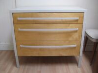 Lovely Chest of Drawers - Professionally finished in Farrow & Ball Eggshell