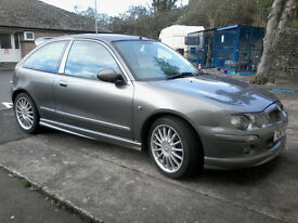 MG ZR 120+ 1 lady owner from new