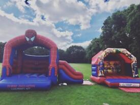 Bouncy castle hire Slush puppy machine Candy floss & Popcorn machine Waffles hire in London & Essex