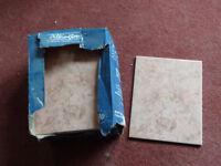 Terracotta Bathroom Tiles Set of 16 (Each Tile Size = 250mmx200x7mm)