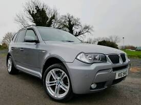 SORRY NOW SOLD!! 2007 BMW X3 2.0d M Sport 4x4! Full Leather! FSH! 2014 X3 M SPORT WHEELS