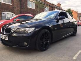 BARGAIN BMW 320D M SPORT COUPE WITH IDRIVE
