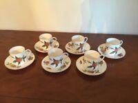 Royal Worcester Bone China coffee set