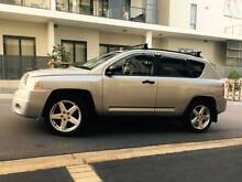 2008 Jeep Compass Sports Luxury Auto LONG REGO Logbooks Low Ks A1 Meadowbank Ryde Area Preview