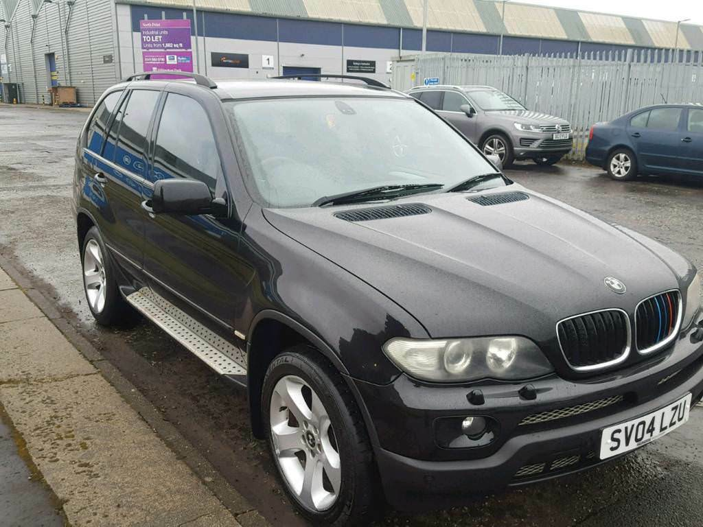2004 bmw x5 in black facelift model low miles mot 39 d may in dumbarton west dunbartonshire. Black Bedroom Furniture Sets. Home Design Ideas