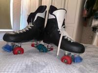 Roces ventronic Quad Roller Skates, Fits Size 7, used for sale  Wisbech, Cambridgeshire