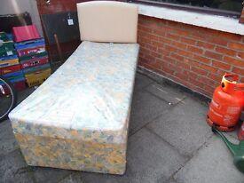 waterproof single bed