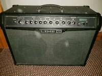 "Line 6 1v 120 watt 2x 12"" combo in excellent condition full effects very loud with super effects"