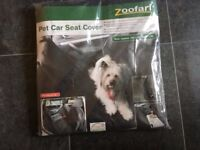 Rear Car Seat Cover -protecting upholstery from pets - new