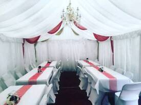 Marquee hire pre-booking offers