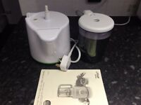 AVENT Combined Steamer and Blender