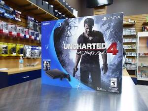 Playstation 4 Slim 500gb Uncharted 4 neuve