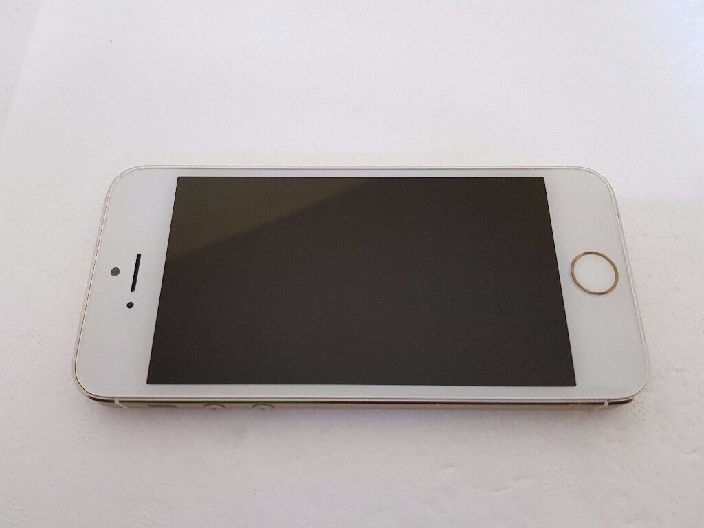 Apple iPhone 5s 32GB Gold Vodafone UK Good Condition with Fingerprint Sensor Fault