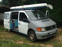 Mercedes Vito Surf Camper Day van (Project)