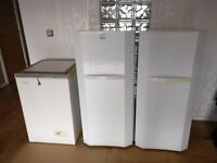 1 fridge and 2 freezers for sale BARGAIN!!! All p.a.t tested