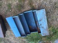 Tool box metal concertina opening type old school