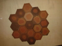 Clay hexagon iciceram spanish floor tiles