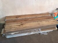 Oak laminate flooring and underlay. (Brand new)