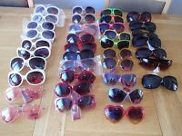 sunglasses 52 pairs bankrupt stock