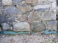 old scythe in good condition for sale