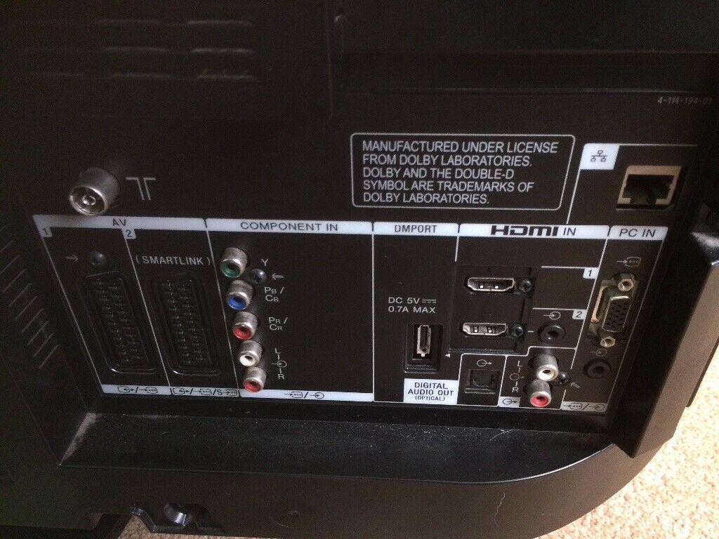 sony bravia tv 46 inch. 46 inch sony bravia tv hd. image 1 of 7 tv