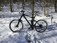 Cube stereo 160 had from brand new good lightweight bike only selling due to new bike