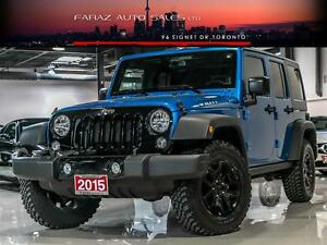 2015 Jeep Wrangler RARE WILLYS PKG UNLIMITED CONVERTIBLE 4x4