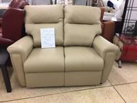 Sitting pretty 2 seater beige sofa