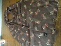 Charlotte Sparre Hans Christian Anderson hot air ballon print silk scarf