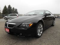 2004 BMW 6 Series 645Ci |NAVIGATION|CLEAN CARPROOF|MINT CONDITIO