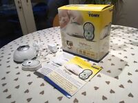 Tomy Digital Baby Monitor TD300 Boxed with Instructions