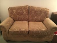 3 piece suite (2 chairs and 2 seater sofa)