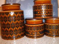 Hornsea Pottery Storage Jars