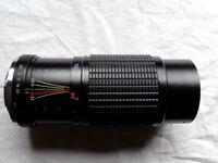 SUNAGOR MC Auto Zoom 80 - 200mm / Ultra Compact SLR Zoon Lens