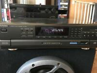 Technics 5 disk multi CD player hifi separates