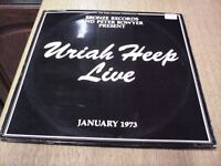 URIAH HEEP LIVE DOUBLE ALBUM FIRST PRESSING IN GOOD CONDITION