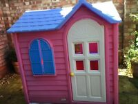 Pink Little Tikes Country Cottage Playhouse £100