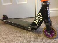 District scary kids custom stunt scooter