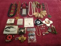 Assorted Ladies Costume Jewellery-All In Nice Condition-Proceeds to Local Charity