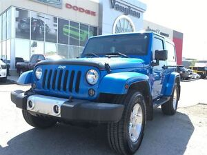 2015 Jeep Wrangler Sahara -1 Owner - 6spd manual