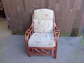Cane Framed single Armchair Delivery available
