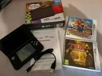 New Nintendo 3DS XL + 2 Games