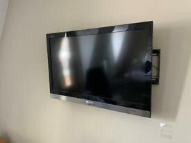 """31"""" tv with stand"""