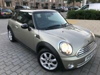 MINI Hatch 1.6 Cooper Hatchback,Petrol Manual,2009,Full service history,Long Mot,hpi clear