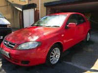 05 DAEWOO LACETTI 1.6 LITRE PETROL FIVE DOOR HATCHBACK MOT'D LOW MILEAGE 57832 IDEAL FAMILY CAR