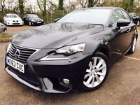 LEXUS IS 300H LUXURY HYBRID 2014 1 OWNER FROM NEW 2 KEYS NOT TOYOTA PRIUS 2012 2013 MERCEDES BMW VW