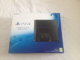 PS4 1TB (Ultimate player edition)