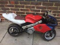Mini moto 50cc runner read ad