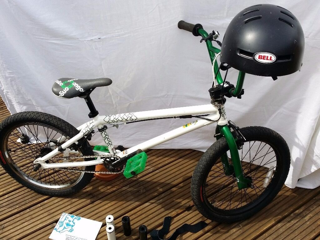 Bmx Bike Mongoose Diagram 2010 Bell Helmet Hardly Used See Of A Bicycle Photos