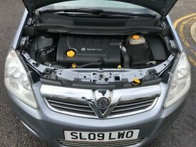 2009 Vauxhall Zafira 1.9 CDTi Exclusiv 5dr Automatic 7Seater @07445775115 1Owner+2Key+Auto+Warranty